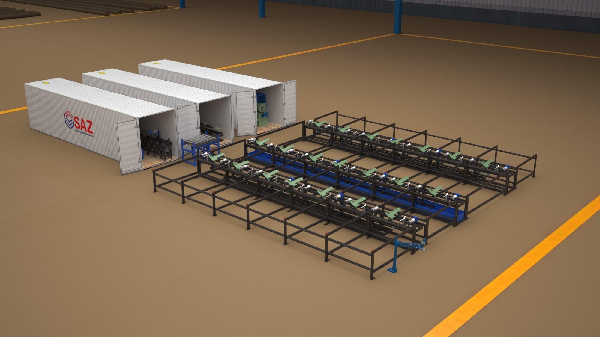 SAZ Modular Plant Layout
